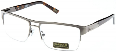 Rimless Distance Glasses : BARBOUR INTERNATIONAL BI 009 Semi-Rimless Glasses ...