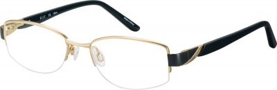 ELLE 'EL 13392' Prescription Glasses<br>(Metal & Plastic)
