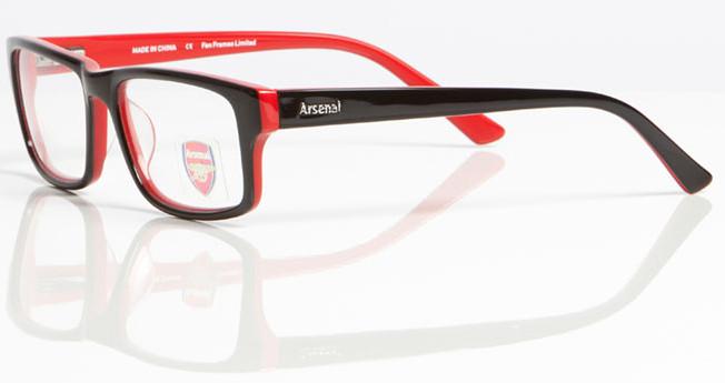 Arsenal Fc Oar 005 Designer Glasses Internetspecs Co Uk