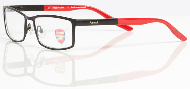 ARSENAL FC OAR 006 Designer Frames InternetSpecs.co.uk