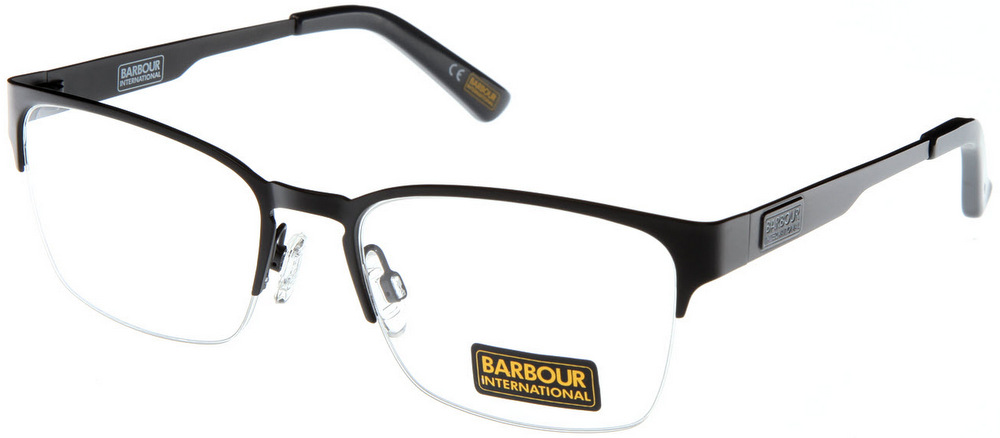 Rimless Distance Glasses : BARBOUR INTERNATIONAL BI 004 Semi-Rimless Glasses ...