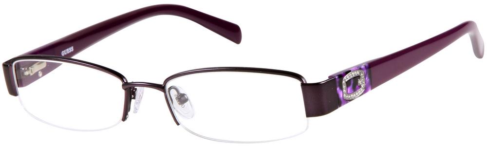 GUESS GU 2368 Semi-Rimless Glasses InternetSpecs.co.uk