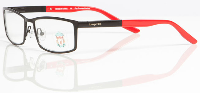 Glasses Frame Help : LIVERPOOL FC OLI 006 Designer Frames InternetSpecs.co.uk