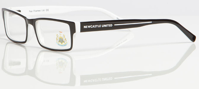 NEWCASTLE UNITED FC ONE 003 Glasses InternetSpecs.co.uk