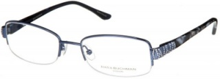 DANA BUCHMAN 'HOLDEN' Semi-Rimless Glasses<br>(Metal & Plastic)