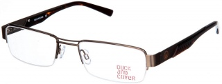 DUCK and COVER DC 002 Semi-Rimless Glasses<br>(Metal & Plastic)