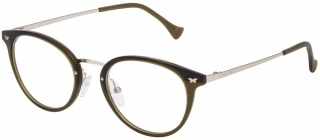 POLICE VPL 044 Spectacles<br>(Metal & Plastic)