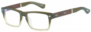 SUPERDRY 'HIRO' Prescription Glasses<br>(Plastic & Wood)