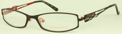 ACTMAN & MICO 'LOVEBIRD' Designer Glasses<br>(Semi-Rimless 'INSET')