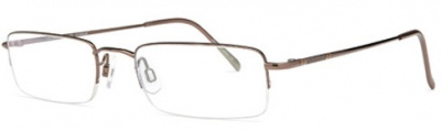 JAEGER 242 Semi-Rimless Glasses<br>(Titanium)