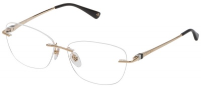 NINA RICCI VNR 149S Rimless Glasses