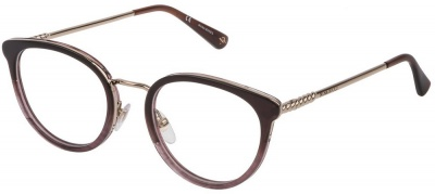 NINA RICCI VNR 171 Prescription Glasses<br>(Metal & Plastic)
