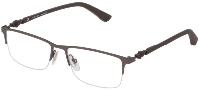 POLICE VPL 794 'PITCH 1' Designer Semi-Rimless Glasses