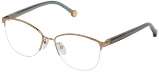 CAROLINA HERRERA VHE 112 Semi-Rimless Glasses
