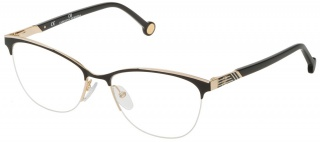 CAROLINA HERRERA VHE 123 Semi-Rimless Glasses