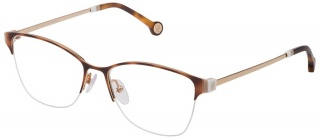 CAROLINA HERRERA VHE 137 Semi-Rimless Glasses