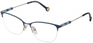 CAROLINA HERRERA VHE 163 Semi-Rimless Glasses