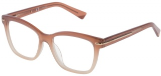 NINA RICCI VNR 017 Prescription Glasses<br>(Plastic & Metal)