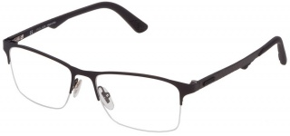 POLICE VPL 693 'CARBONFLY 2' Semi-Rimless (Supra) Glasses
