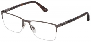 POLICE VPL 884 'AXIOM 2' Semi-Rimless Glasses