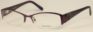 VERA WANG V056 Prescription Glasses<br>(Metal & Plastic)